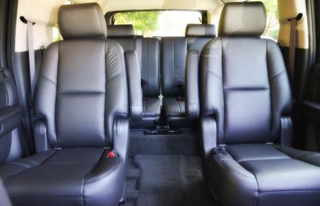 Cadillac Escalade ESV interior
