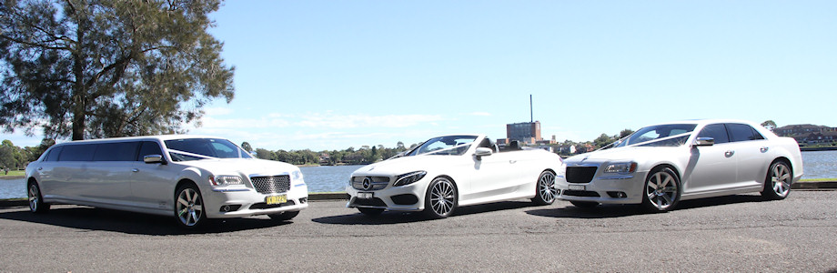 Mercedes-C-CLASS-Convertible-(with-AMG-UPGRADE)-&-Chrysler-300c-Stretch-Limousine-&-Chrysler-300C-Sedan