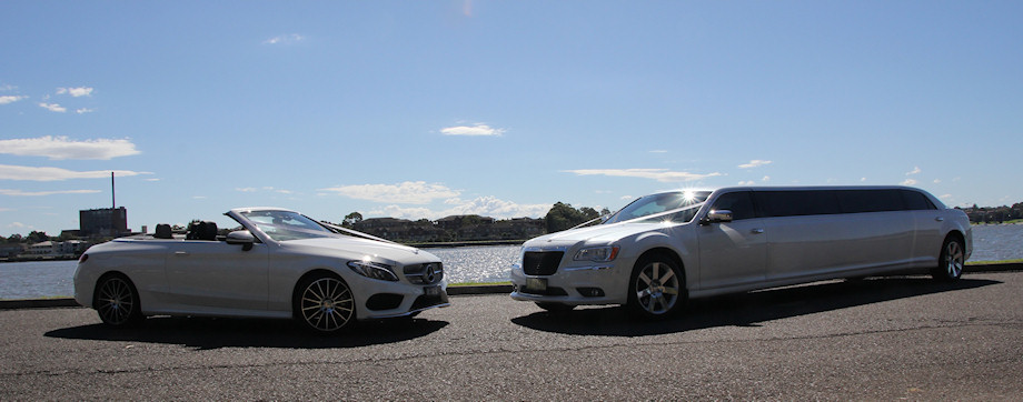 Mercedes-C-CLASS-Convertible-(with-AMG-UPGRADE)-&-Chrysler-300c-Stretch-Limousine