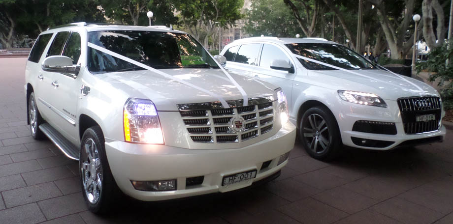 White Cadillac Escalade Hire | Hire Cadillacs for Special ...