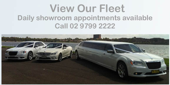 View the entire fleet at HF Wedding & Hire Cars, Daily Appointments Available