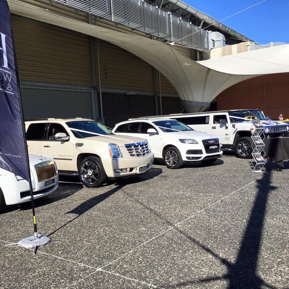 The HF Wedding Car Fleet on Show