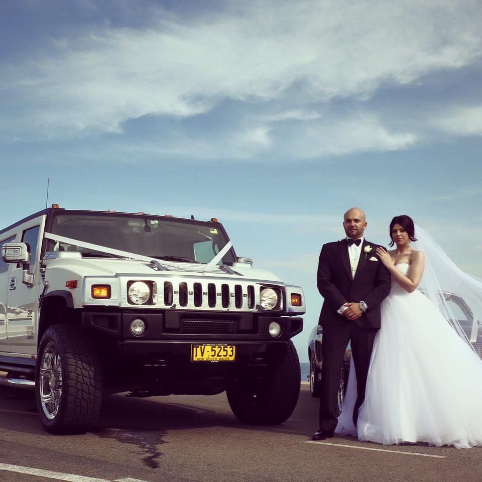 Wedding hummer hire Sydney