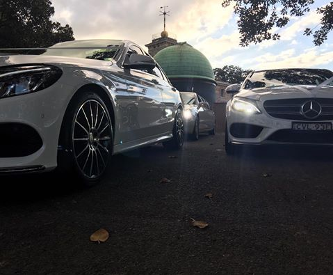 Corporate car hire fleet