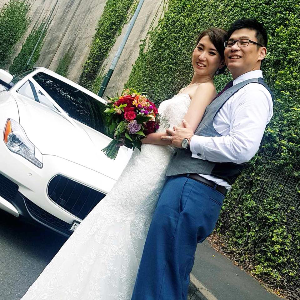 Congratulations to Samuel and Yujing on their wedding day yesterday.